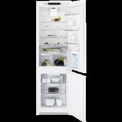 Electrolux ENT8TE18S Beépíthető kombinált hűtőszekrény, NoFrost, 177 cm