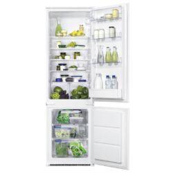 Zanussi ZBB28441SA beépíthető hűtő alulfagyasztós
